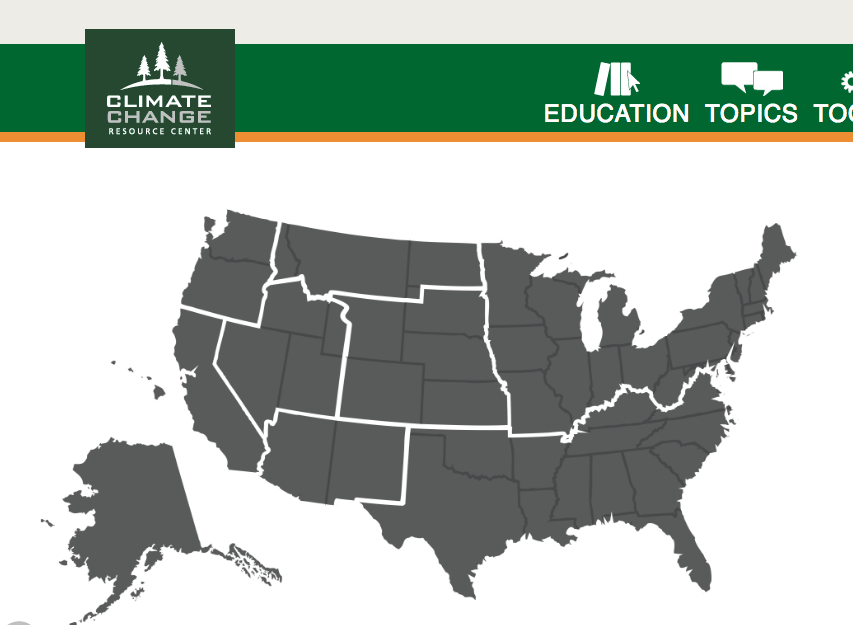 New Interactive Education Module on Climate Change Effects