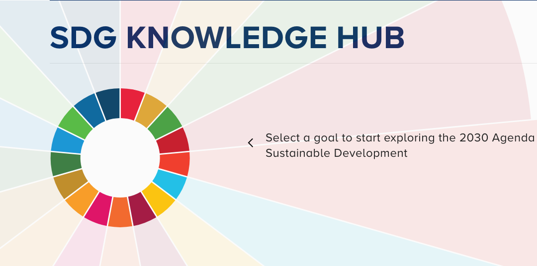 Online Knowledge Hub on Sustainable Development Goals