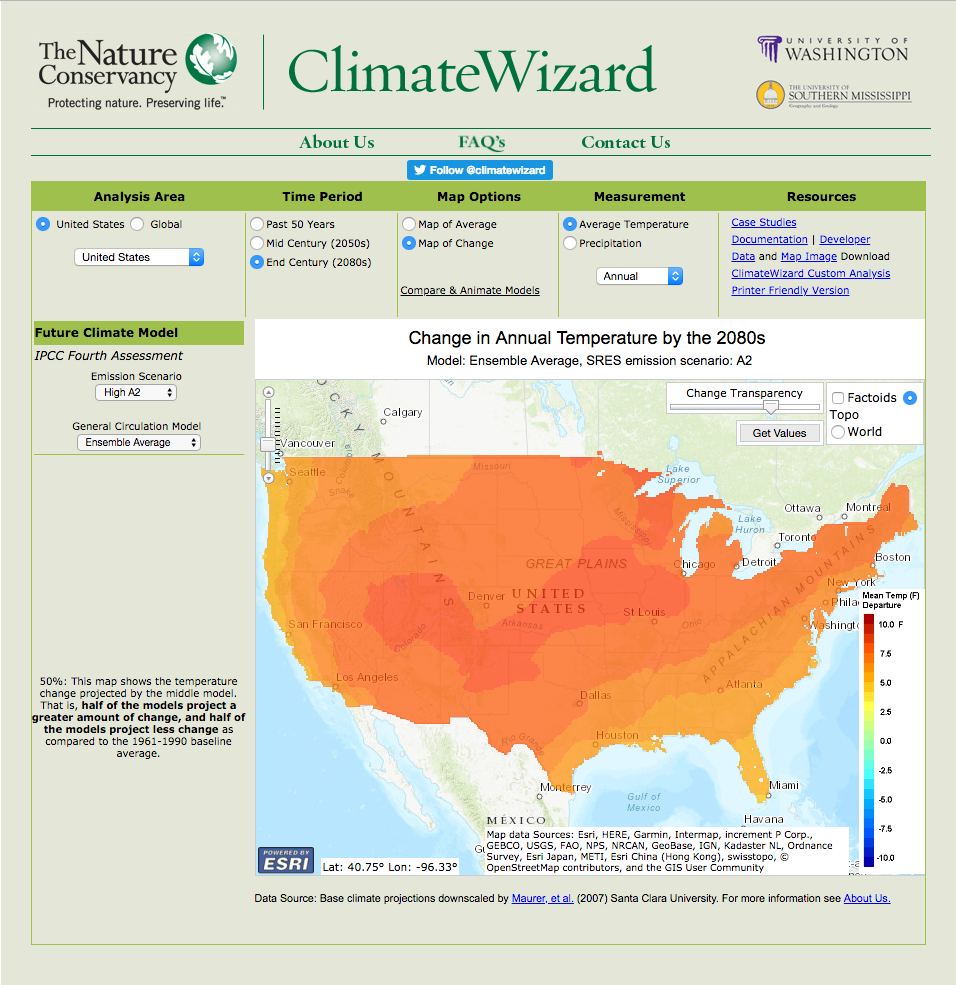 Climate Wizard