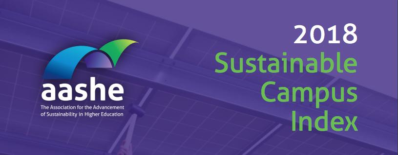 2018 Sustainable Campus Index