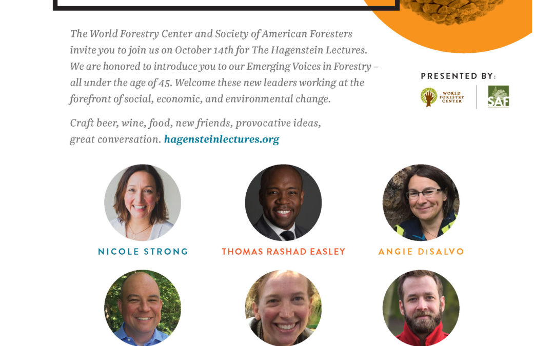 Hagenstein Lectures – Emerging Voices in Forestry