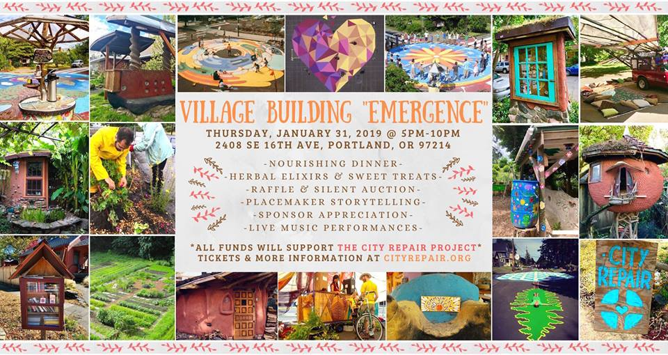 "City Repair's Village Building ""Emergence"""
