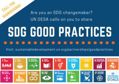 Open Call:  SDG Good Practices