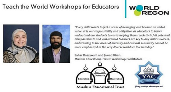 Teach The World Understanding Islam to Enrich Civic Education and Diversity in Schools