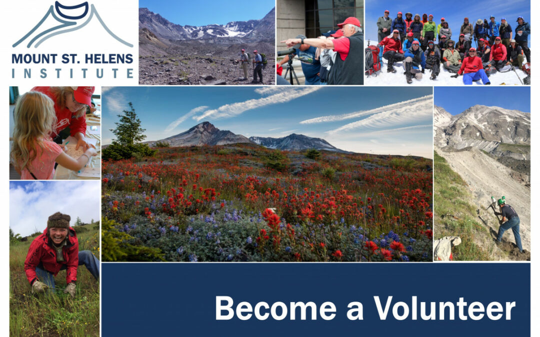 Volunteer at Mount St. Helens this summer! New volunteer orientations held in April and May