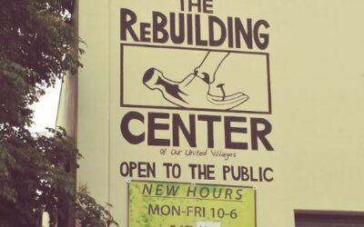 ReBuilding Center, Rebuilding Communities