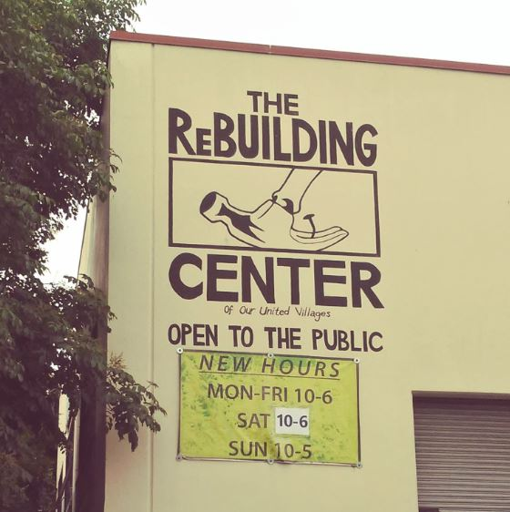 ReBuilding Center, Rebuilding Communities