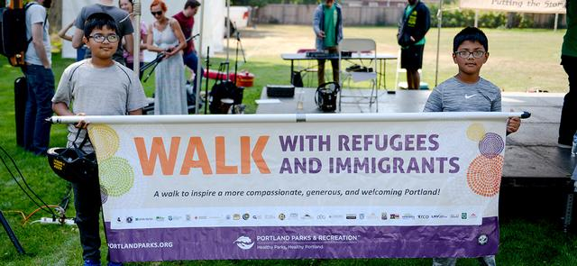 2019 Walk with Refugees & Immigrants