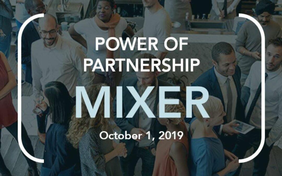 Power of Partnership Mixer