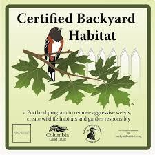 Backyard Habitat Certification Program Manager Position