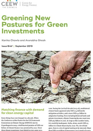 Greening New Pastures for Green Investments