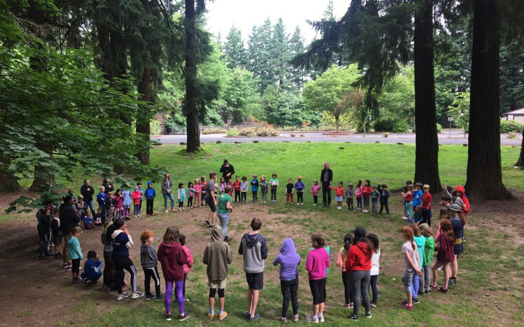Summer jobs with Portland Parks & Recreation | Environmental Education