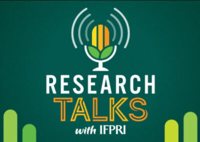 IFPRI's New Podcast: Research Talks