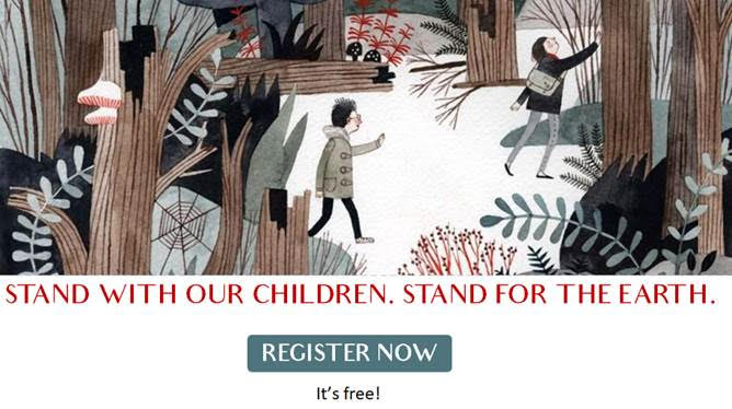 Stand with Our Children. Stand for the Earth – An Earth Day Benefit Dinner for the Eco-School Network