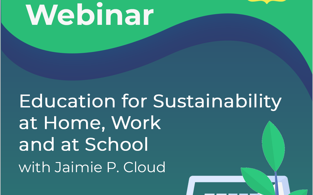 Free Webinar: Education for Sustainability
