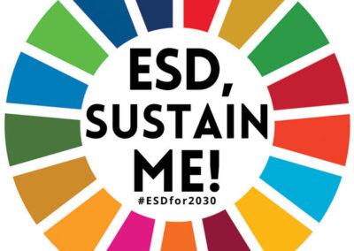 ESD, Sustain Me!
