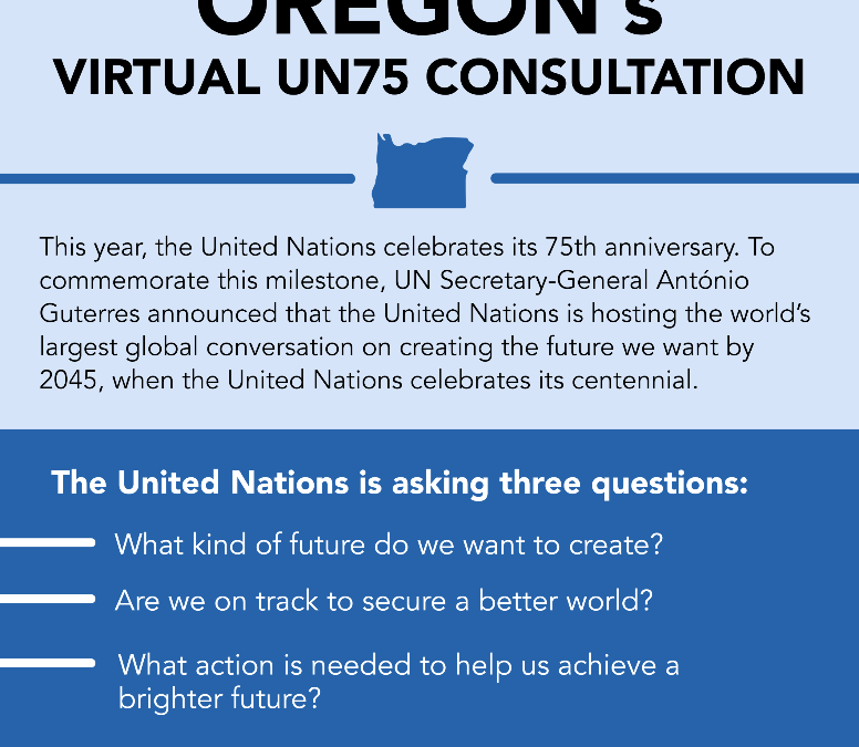 UN75 Virtual Consultation: Oregon