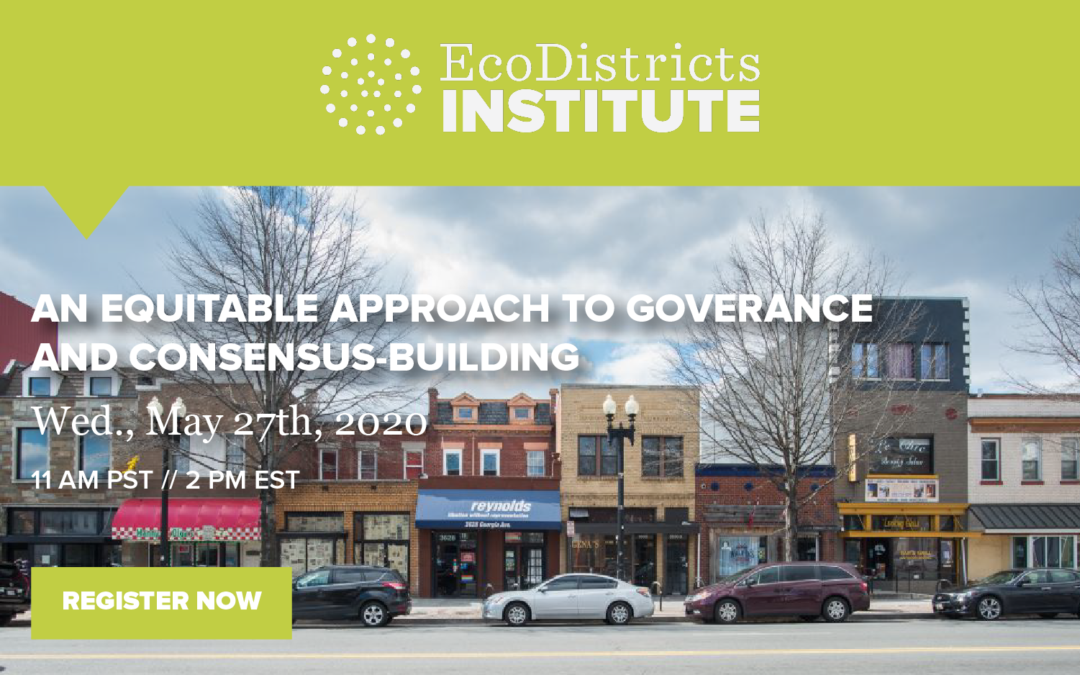 EcoDistricts Webinar is One Week Away!
