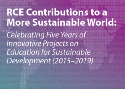 RCE Contributions to a More Sustainable World
