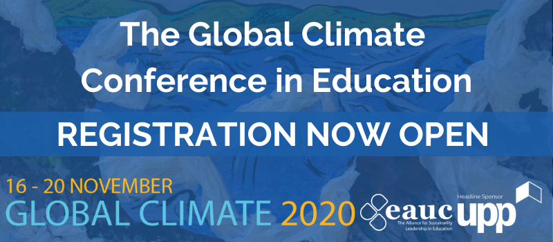 The Global Climate Conference in Education 2020 is Now Open!