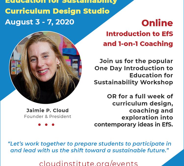 The Cloud Institute's Annual Curriculum Design Studio