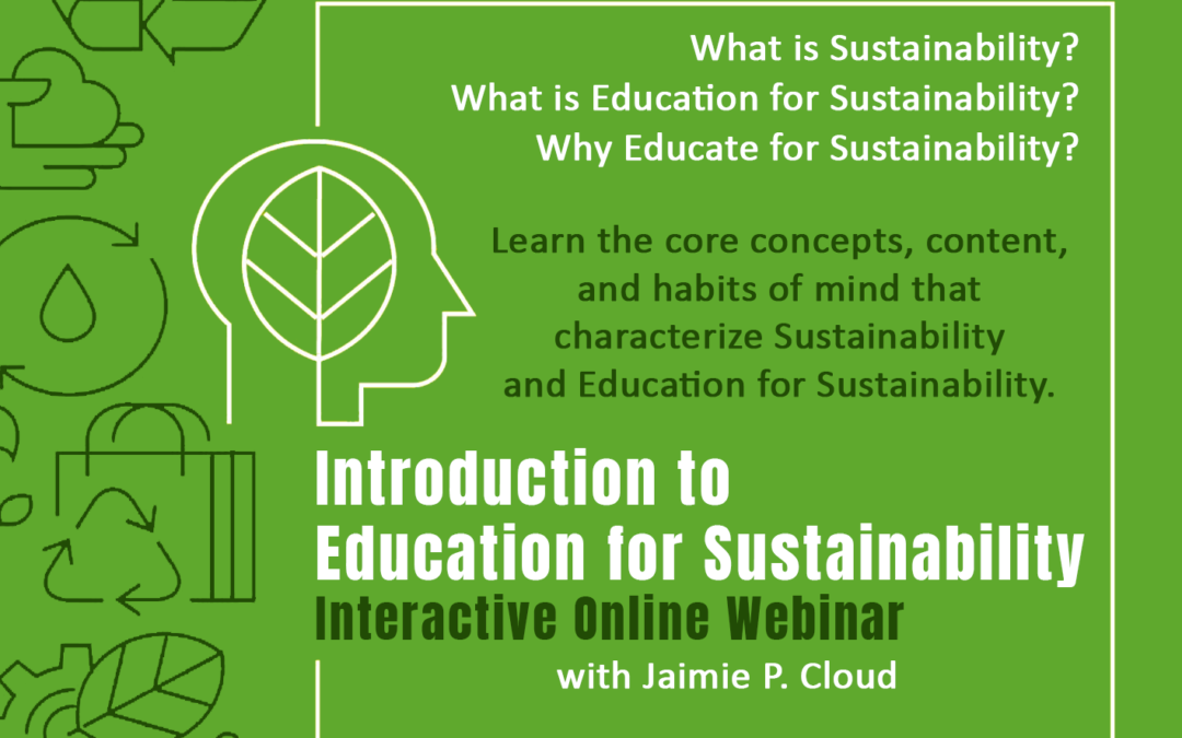 Introduction to Education for Sustainability