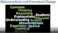 Misconceptions & Conceptual Change