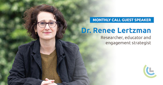 Watch CCL's national call with Dr. Renee Lertzman