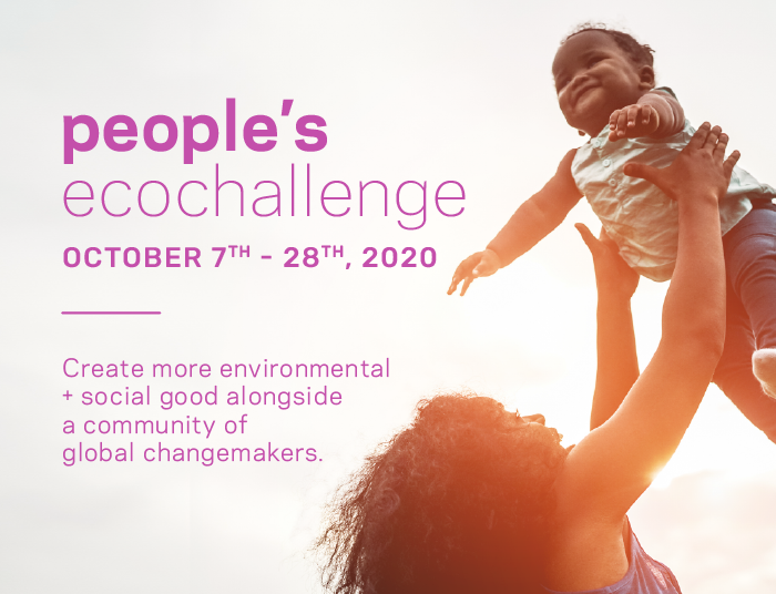 Start building your team for People's Ecochallenge 2020!