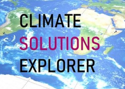 Climate Solutions Explorer video game