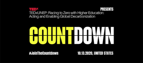 Webinar: TEDxUNEP: Racing to Zero with Higher Education
