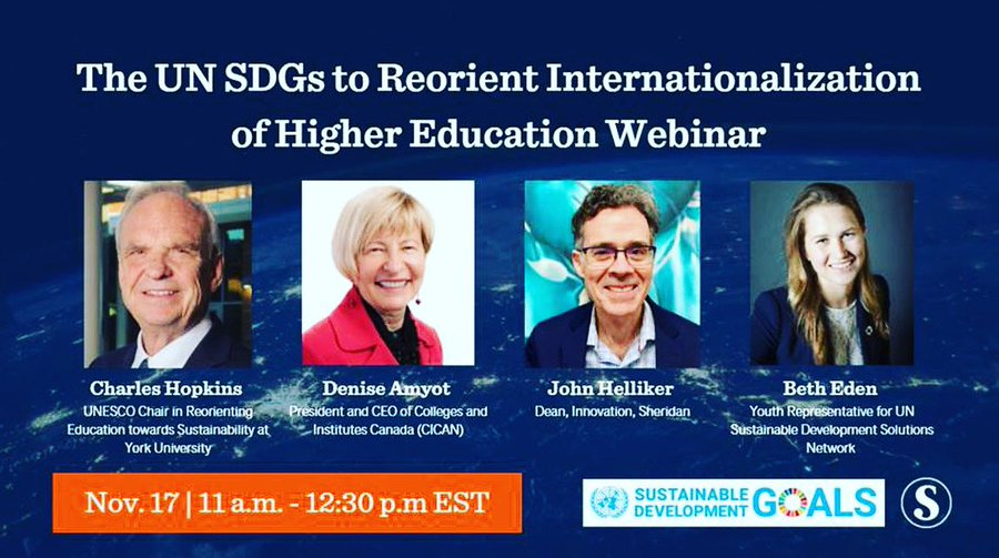 International Education Week: The UN SDGs to Reorient Internationalization of Higher Education