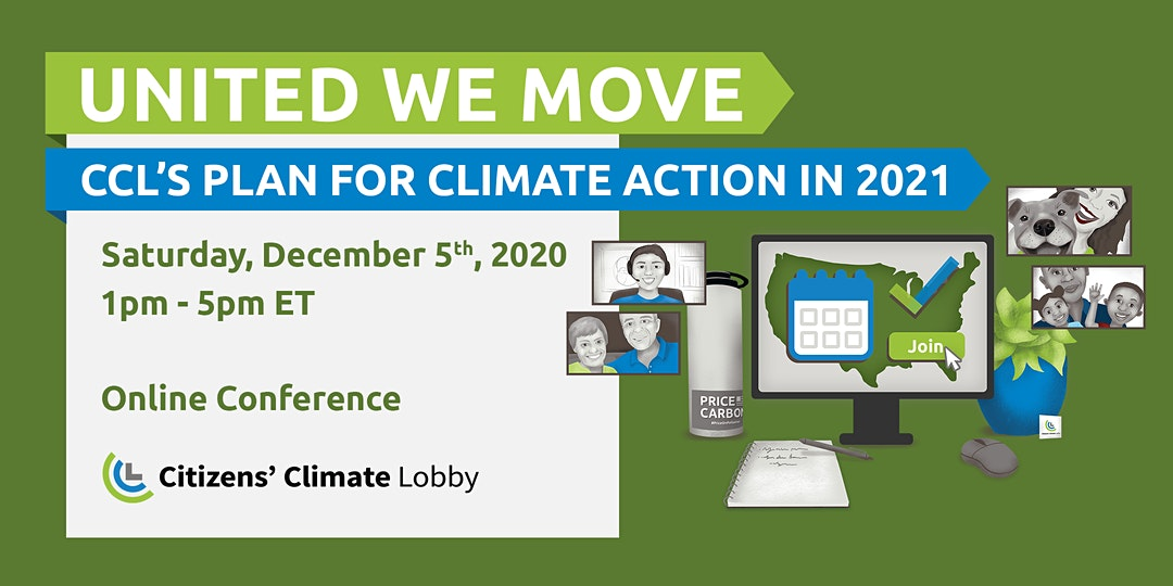 Intersection of Race & Climate among topics for Citizens Climate Lobby Conference Seminars