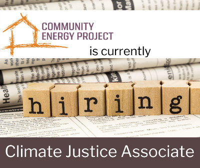 Community Energy Project Job Oppprtunity