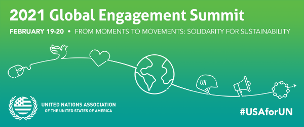 Join us for UNA-USA's all-virtual Global Engagement Summit